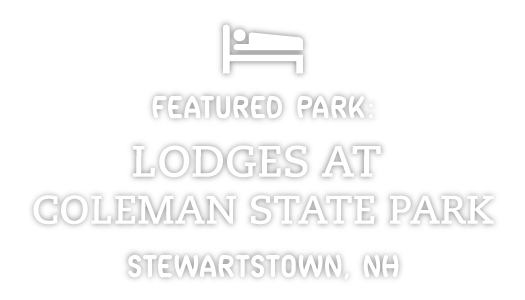 featured park: Lodges at Coleman State Park